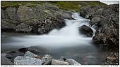 Bach in Norwegen - Wildbach in Norwegen
