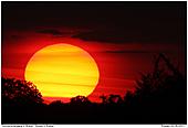 Sonnenuntergang - Sonnenuntergang in Brebel