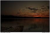 Försjön - Sonnenuntergang am Försjön