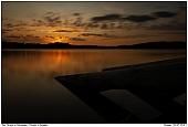 - Sonnenuntergang am Försjön in Schweden